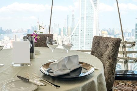 Modern dining setting