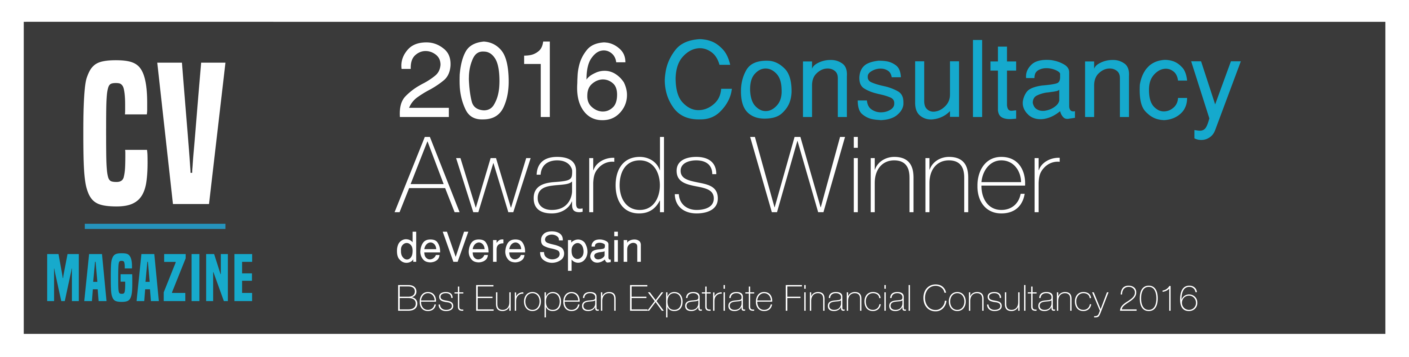 consultancy awards winner
